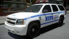 Chevrolet Tahoe NYPD Police 2015 para GTA 4