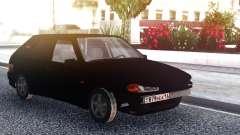 VAZ 2114 Negro Parachoques para GTA San Andreas