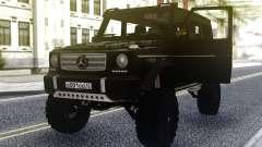 Mercedes-Benz G500 4х4 Negro para GTA San Andreas