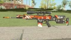CS-GO SCAR-20 (Bloodsport Skin) para GTA San Andreas