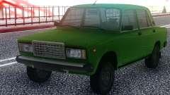 2107 Verde Sedán para GTA San Andreas