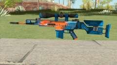 CS-GO SCAR-20 (Intervention Skin) para GTA San Andreas