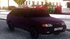 VAZ 2114 Oscuro para GTA San Andreas