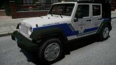 Jeep Wrangler Rubicon 2013 Police para GTA 4