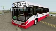 Linea 100 Todobus Pompeya II Agrale MT17 Interno para GTA San Andreas