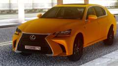 Lexus GS350 2018 Golden para GTA San Andreas