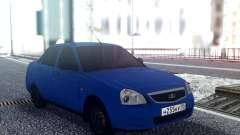VAZ 2170 Sedán Azul para GTA San Andreas