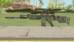 CS-GO SCAR-20 (Peacemaker Skin) para GTA San Andreas