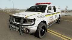 Nissan Frontier Brazilian Police (Dirty) para GTA San Andreas