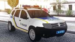 El Renault Duster Policía De Ucrania