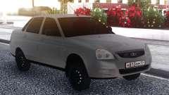 VAZ 2170 Gris para GTA San Andreas