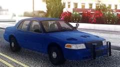 Ford Crown Victoria Classic Blue para GTA San Andreas