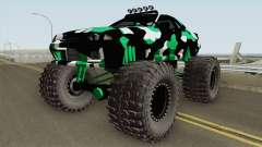 Nissan Skyline R32 Monster Truck Camo para GTA San Andreas