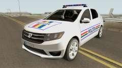 Dacia Logan 2 2016 Politia Romana
