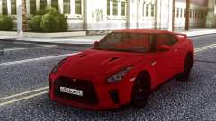 Nissan GT-R R35 Red para GTA San Andreas