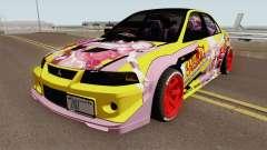 Mitsubishi Lancer Evolution VI GSR 1999 HQ para GTA San Andreas