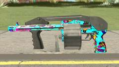 Shotgun (Cartoon Skin) para GTA San Andreas