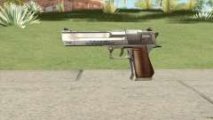 Desert Eagle Chrome GTA IV para GTA San Andreas
