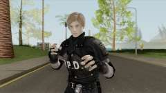 Leon RE 2 Remake (Classic Outfit) Meshmod para GTA San Andreas