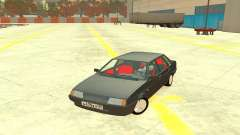 VAZ 21099 salón Rojo para GTA 4