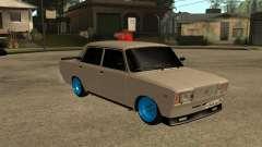2107 De Combate Clásico Azul Discos para GTA San Andreas