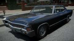 Declasse Impaler Super Sedan Supernatural para GTA 4