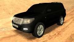 Toyota Land Cruiser 200 Stock para GTA San Andreas
