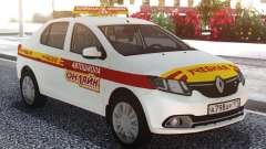 Renault Logan Escuela De Conducción En Línea para GTA San Andreas