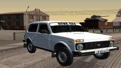 Un Blanco VAZ 2121 Niva para GTA San Andreas