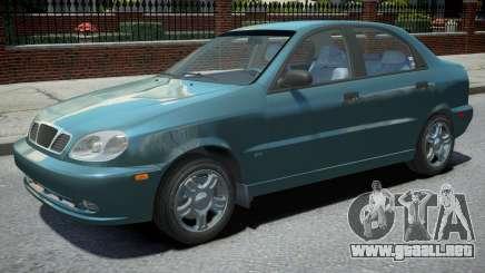 Daewoo Lanos Sedan 1999 para GTA 4