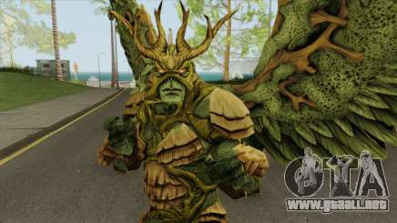 Swamp Thing Legendary From DC Legends para GTA San Andreas