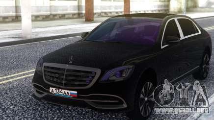 2018 Mercedes-Benz S-Class Maybach para GTA San Andreas
