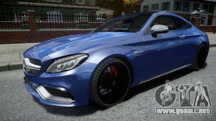 Mercedes-Benz AMG C63 S 2016 para GTA 4