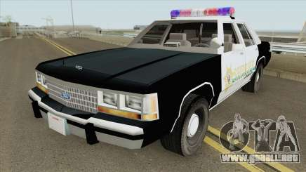 Sheriff Car RE:2 Remake para GTA San Andreas