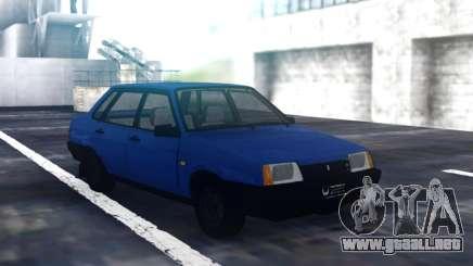 VAZ 21099 Sedán Azul para GTA San Andreas