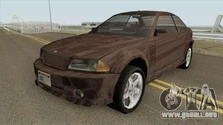 Ubermacht Sentinel GTA IV (SA Style) para GTA San Andreas