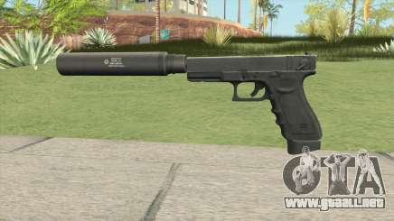 Contract Wars Glock 18 Suppressed para GTA San Andreas