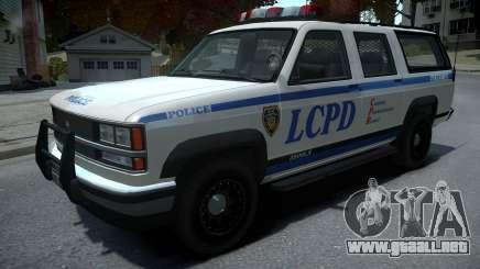 Declasse Granger Retro Police para GTA 4