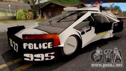 GTA V Zirconium Weaver Cop para GTA San Andreas