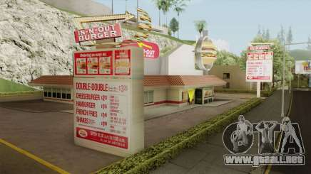 In N Out Mod para GTA San Andreas