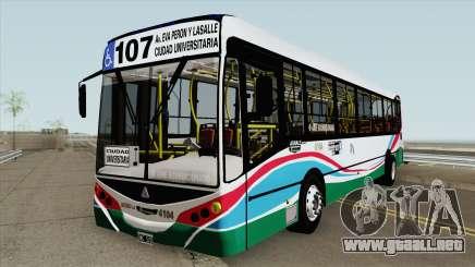 Linea 107 Metalpar Iguazu II Agrale MT17 Interno para GTA San Andreas