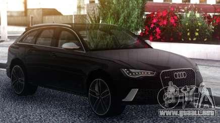 Audi RS6 Black para GTA San Andreas