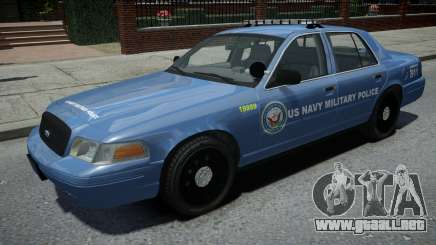 Ford Crown Victoria US NAVY Military Police para GTA 4