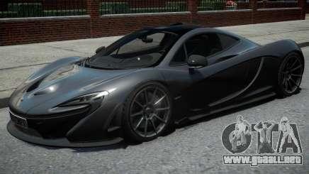 McLaren P1 2013 Black para GTA 4