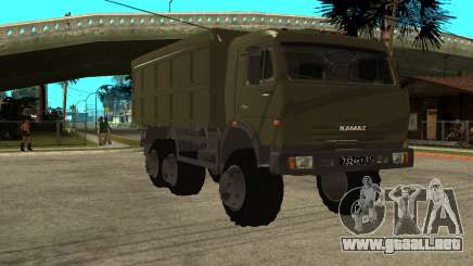 KamAZ 54115 Militar para GTA San Andreas