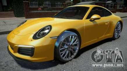 Porsche 911 Carrera S 2017 para GTA 4