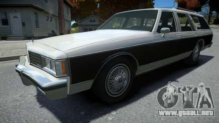 Oldsmobile Custom Cruiser 1985 para GTA 4