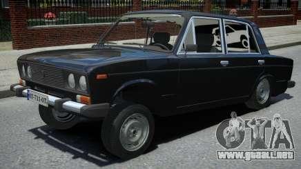VAZ 2106 Negro para GTA 4