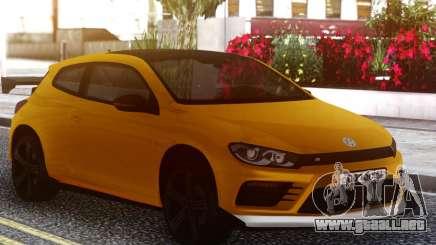Volkswagen Scirocco GT Yellow para GTA San Andreas