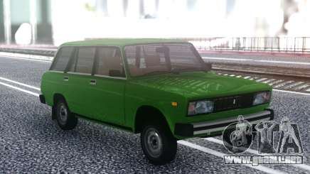 VAZ 2104 Verde para GTA San Andreas